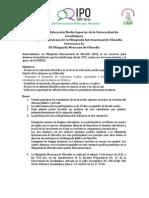 Convocatoria OMF 2015