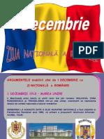1 Decembrie. Ziua Nationala Romania