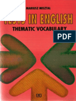Misztal Mariusz - Tests in English - Thematic Vocabulary.pdf