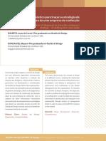 A Contribuição Do Diagnóstico de Design Para Traçar a Estratégia Da Empresa