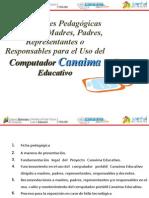 Orientaciones Charla Presentación Canaima1