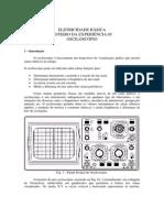Experiência c Ociloscópio-UFSC