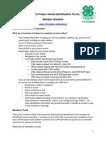 paif - member checklist