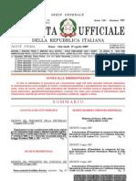 XVI LEGISLATURA — ALLEGATO A AI RESOCONTI — SEDUTA DEL 15 DICEMBRE 2009 Camera dei Deputati
