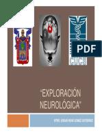 Exploración Neurológica de los pares craneales