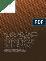 Innovaciones legislativas en políticas de drogas