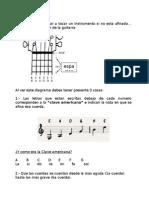Guía Taller de Guitarra