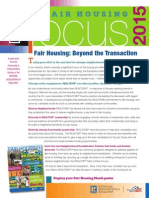 2015 Fair Housing FOCUS