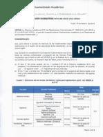 RVAC N° 149 - SUSPENDER RESTRICCIONES DE INGLES- SEMESTRE 2015 -10