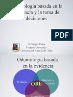 Odontologia Basada en La Evidencia y Toma de Decisiones Uchile 2010
