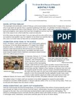 Volunteer Newsletter March 2015