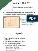 CS 31 Intro to Programming UCLA C++