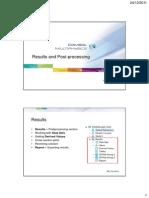 Results and Postprocessing