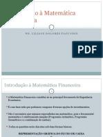 Matemática Financeira- Aula 1 Alunos