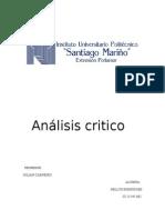 Análisis critico(Nellys Rodríguez)