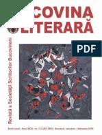 Bucovina literara nr. 1-2 / 2015