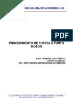 Puesta a Punto de Motor de Vehiculos Inyectados Para Aprobacion de Revision Tecnico Mecanica.