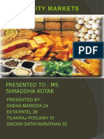 Introductionofcommoditymarketinindia