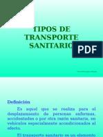 Tipos de Transporte Sanitario