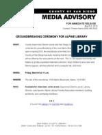 Alpine Groundbreaking Advisory
