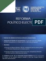 Reforma Politico Electoral PAN