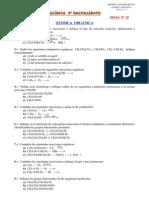 Química Orgánica Selectividad