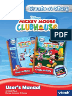 Create a Story Mickey Mouse Clubhouse