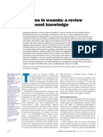 Biofilms in Wounds-- A Review of Present Knowledge