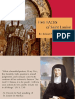Five Faces of St. Louise de Marillac