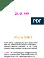 GMP QA QC
