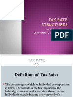 Tax Rate Structures(Slide)
