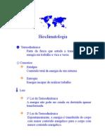 Termodinâmica - Leis Conceito Radiação