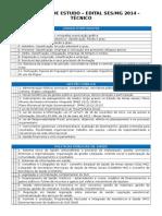 Programa - Check List