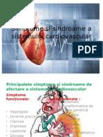 Simptome Si Sindroame a Sistemului Cardiovascular