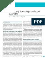 Cuidado y Toxocología de La Piel Neonatal