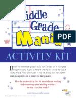Middle Grade Mania