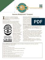 Biodynamic Compost Info