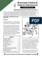 Biodynamic Farming and Compost Preparation