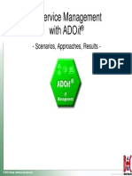 Itsm With Adoit