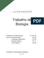 Trabalho de Biologia - Alimentação Saudável.docx