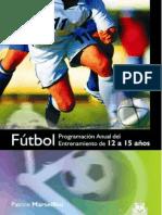 Futbol Programacion Anual de Entrenamiento de 12 a 15 Años