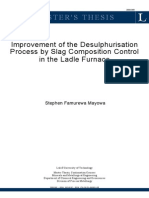 Thesis Slag Desulphurisation