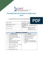 scheme of work 1st years mtw 2014-15