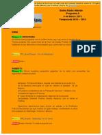 Radio Híbrido Guión Programa 8 Temporada 2014-2015