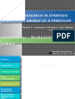 Theory and Research in Strategic Management