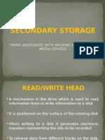 Secondary Storage Terminology 2005