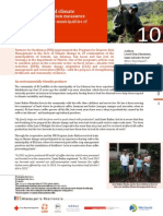 Case study 10 - Climate change and climate variability adaptation measures on coffee farms in four municipalities of Madriz, Nicaragua