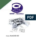 Apostila de AutoCAD 3D