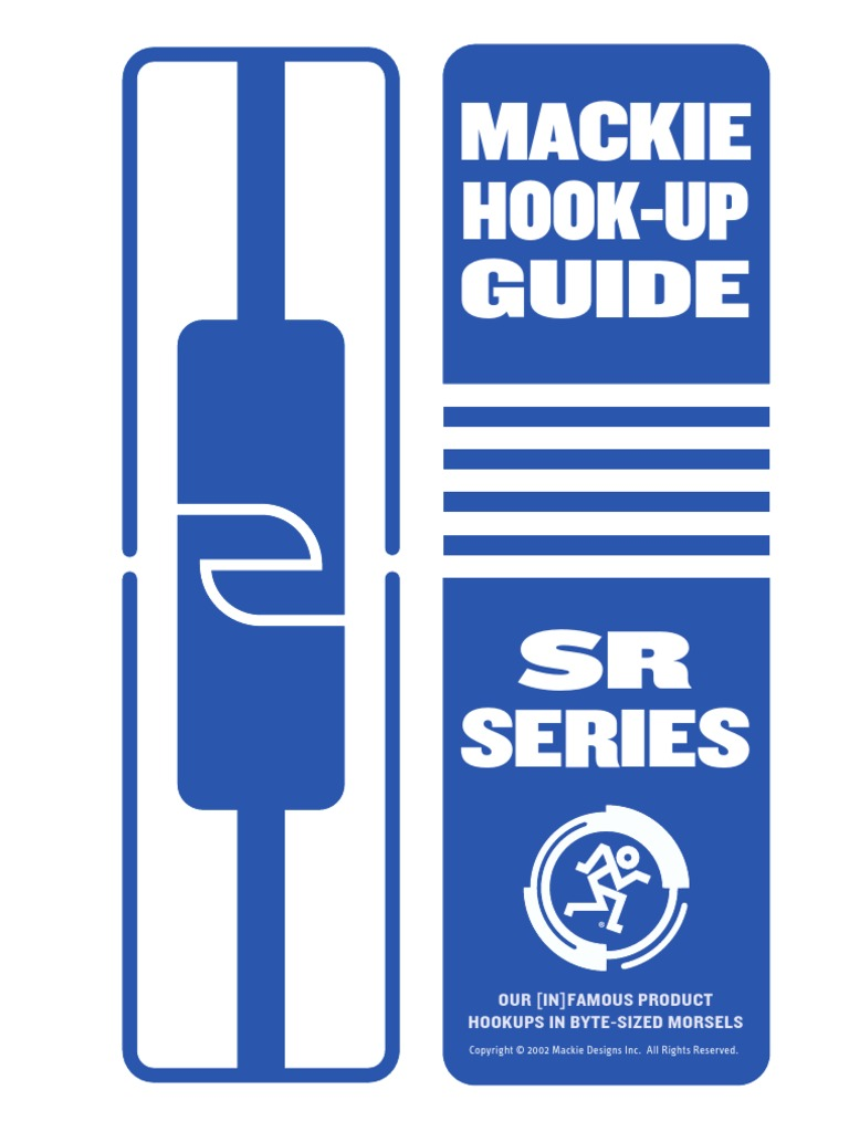 Mackie Hook-up Guide on