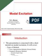 Modal Excitation Tutorial